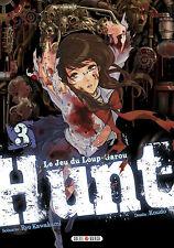Manga Hunt Le jeu du Loup Garou Tome 3 Seinen Koudo Ryo Kawakami Soleil Horreur