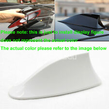 US White Car Radio FM/AM Signal Aerial Shark Fin Antenna For Vauxhall Insignia