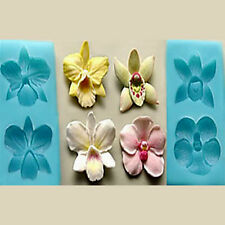 Sugarcraft Molds Polymer Clay Molds Cake Decorating Tools / Orchid Set Mold