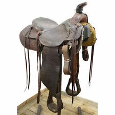 "Used 15"" Bob Marrs Roping Saddle Code: U15BMARRSFTFL"