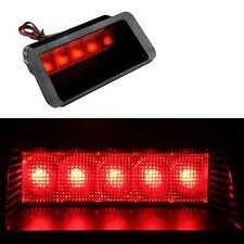 Universal Red 5SMD LED DC12V Car Third 3RD Brake Stop Tail Light Lamp Practical