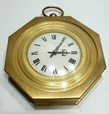 Belle PENDULE Horloge Murale en Bronze doré HOUR LAVIGNE