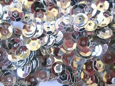 30g of SILVER 7mm cup sequins  (2500)  Embellishment  Decoration