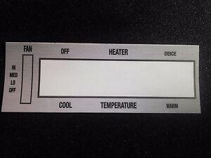 1969 like NOS Heat Control Face plate Skylark GS GS 350 GS 400 GS 455