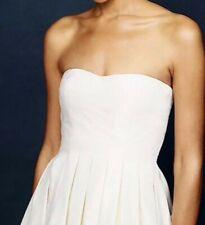 J.CREW 12 Ivory Marlie Silk Taffeta Ball Gown WeddingPRICE REDUCED MKE AN OFFER