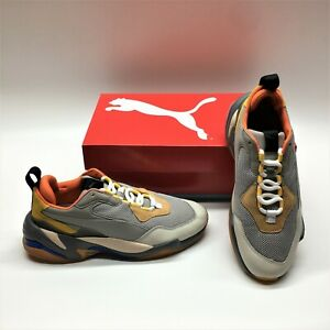 Puma Thunder Spectra 3675616 Steel Gray Low Top Running Sneakers Shoes Mens 8.5