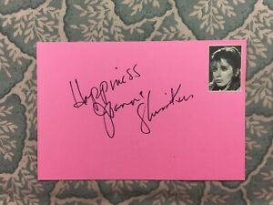 Joanna Shimkus - The Uninvited - The Virgin and the Gypsy - Autographed 1974