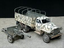 U.S.Dealer Italeri 1/35 Studebaker Lend-Lease U.S. Truck, ZIS-3 Gun & 3 Figures