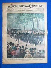 La Domenica del Corriere 13 agosto 1922 Lord Mountbatten - Italo Rho - E. Tosi