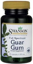 Guar Gum 400 mg x 60 Capsules Full Spectrum - 24HR Dispacth