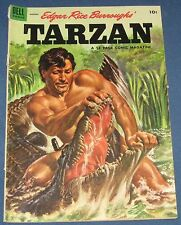 Tarzan #59 Aug 1954 Fighting A Crocodile