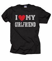 Gift For Boyfriend T-Shirt I Love My Girlfriend Tee Shirt