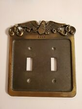VINTAGE 1776 Switch Plate Cover. Dual. 1974 GENERAL ELECTRIC. Nice.