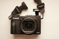 Canon PowerShot gx1 mark II con EVF la mejor!