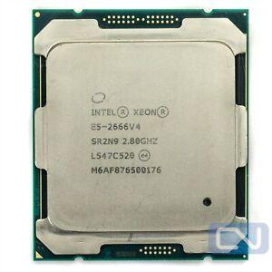 Intel Xeon E5-2666 V4 2.8GHz 30MB 12 Cores SR2N9 LGA 2011-3 Fair Grade CPU