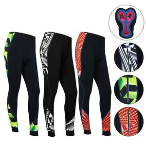 ProAthlerica Women Sublimated Thermal 3D Gel Padded Cycling Tights/Trousers/Legg