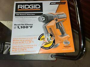 NEW Ridgid 18-Volt Cordless Butane Heat Gun, Bare Tool - R860434B