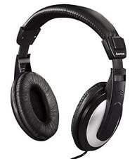 Hama HK-5619 Over-Ear Stereo Headphones for TV and Audio, 6m Lead