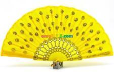 Abanico Amarillo Beautiful Yellow Handfan For Oshun Ochun Abanicos