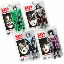 KISS 12 Inch Action Figures Series 8 Dynasty: Set of all 4