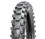 BLACKROCK Motocross Rear Tyre - ENDURO/EVO 120-18 MED 250 2ST / 450 4ST