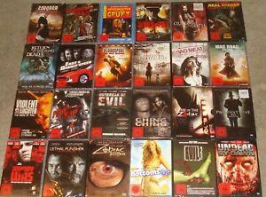 DVD Paket FSK 18 - NEU - Steelbook - Horror - Zombie- (3)