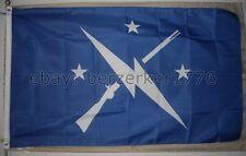 Fallout Commonwealth Minutemen 3' x 5' blue Flag Banner - USA Seller Shipper