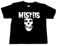 MISFITS Baby Infant T-shirt Horror Punk Rock Fiend Skull Tee 6M,12M,18M,24M New