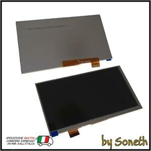 LCD SCHERMO DISPLAY PER MAJESTIC TAB 657 4G