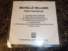 MICHELLE WILLIAMS - HELLO HEARTBREAK - (7 Track Promo CD) - DESTINY CHILD *RARE