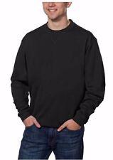 NWT-Men-039-s-PEBBLE-BEACH-Performance-Black-Long-Sleeve-Pullover-Shirt-Sz-M-Me