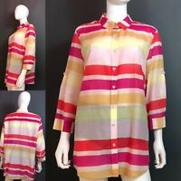 Women's Cold Water Creek Stripe Shirt Size XL