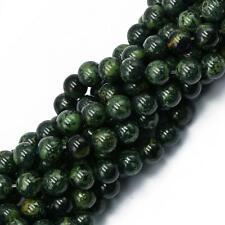 Vintage Round Kambaba Jasper Loose Beads DIY Jewelry Making Accessory 15''