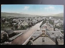 Angus EDZELL Village - Old Postcard by W.R.& S. Reliable Series 341/187