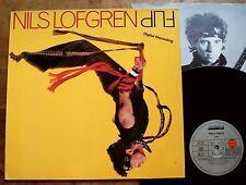 Nils Lofgren - Flip - GER 1985 + OIS + Texte - Digital Recording Ariola TOP MINT
