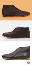 Clarks Originals Men ** DESERT DRIFT BOOTS ** Black Leather ** UK 6,7,7.5