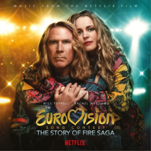 OST-Eurovision Song Contest: Story Of Fire (1LP Flaming) VINYL NEW