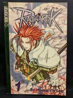 MANGA RAGNAROK Vols 1, 2, 3 & 4 🗡️ Lee Myung-jin Manwha Teen 13+ 2002 English