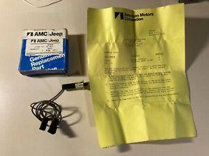 NOS AMC Jeep J-Series Pickup Dash Glove Box Light Switch Harness OEM Part 938273