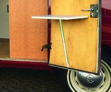 VW T2 Westfalia Type 2 Early Bay Sink couverture Table Set C9739 blanc avec gris ligne