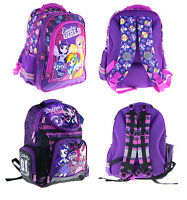 My Little Pony EQUESTRIA GIRLS School Bag Backpack for kids Rucksacks NEW