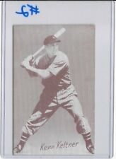 1947-66 Exhibits Baseball Ken Keltner Misspelled Kenn Cleveland Indians G (#2)