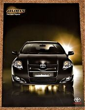 2006-07 TOYOTA AURIS UK Launch Brochure - 1.4 VVTi, 1.6 VVTi, 1.4D-4D, 2.0D-4D