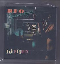 REO SPEEDWAGON empty DU Hi Infidelity slipcase PROMO box for JAPAN mini lp cd