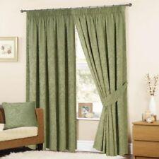 Rideaux et cantonnières vert pour la maison, pas de offre groupée