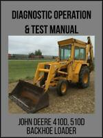 John Deere Backhoe Loader 410D 510D Diagnostic Operation and Test Manual TM1512