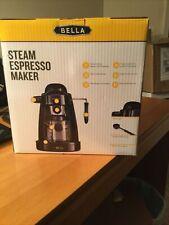 Brand New In Box Bella Espresso Maker with Built-in Steam Wand & 5 Bar Pressure