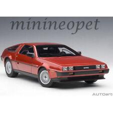 Autoart 79918 Delorean Dmc 12 1/18 Model Car Metallic Red