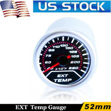 "Jdm 2"" Exhaust Gas Temperature 52Mm Led Gauge Egt Smoke Lexus Scion Mini Suzuki"