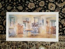 """Charles L Peterson """"And Apple Pie"""" Framed Art-Limited Collectors Edition"""